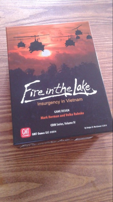 After Action Report: First Attempt at Playing GMT Games Fire
