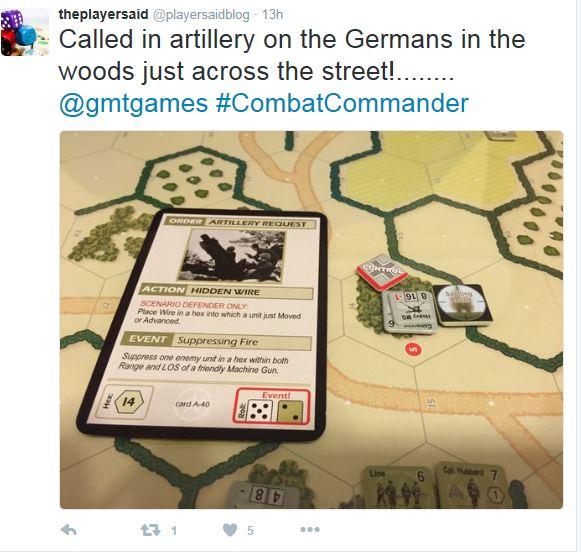 H&H Scenario 1 - Calling in Artillery