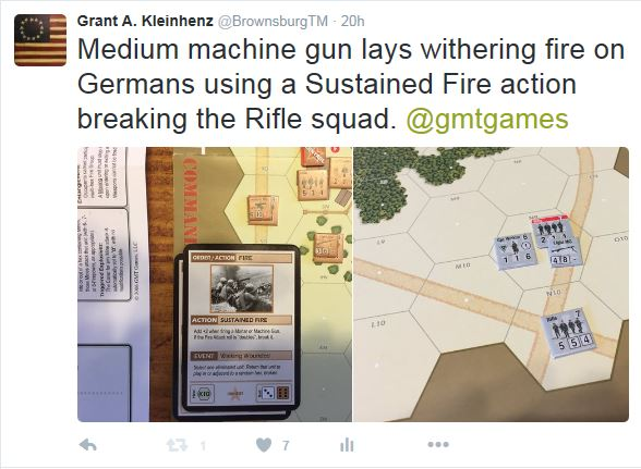 Russian Fire on Germans