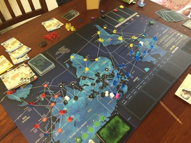 SPOILERS* Pandemic Legacy: Season 1 – The Players' Aid