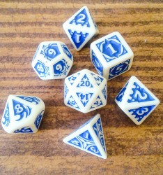 Free set of polyhedral dice from D&D 5e release event