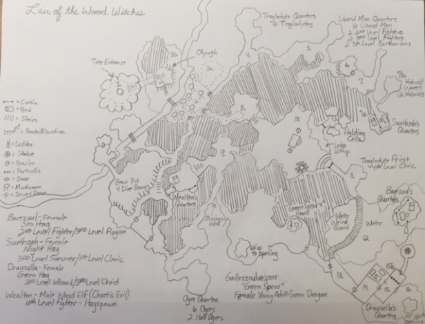 The Lair of the Wood Witches – A Dungeons & Dragons