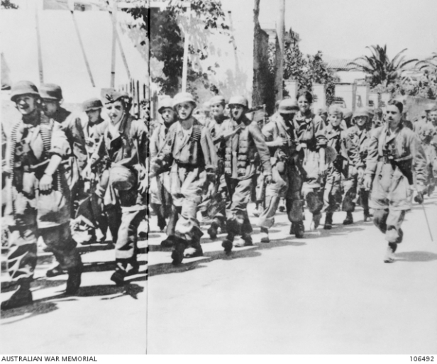ANZAC Marching