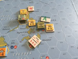 Grossly overpowered Allied forces