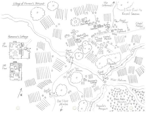Farmers Retreat Map Image