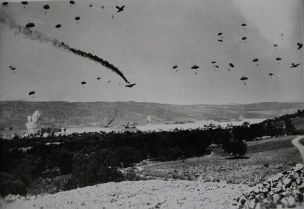 Crete was the scene of the largest German Airborne operation of WWII. Afterwards, Crete was dubbed the graveyard of the Fallschirmjager (German Parachutists); they suffered nearly 4,000 killed and missing.
