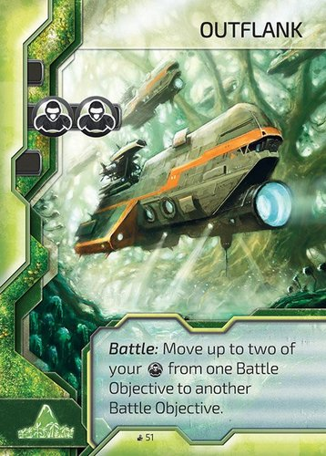 Cry Havoc Outflank Card
