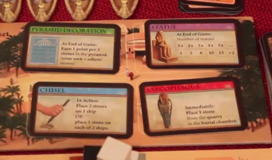 Imhotep Action Cards