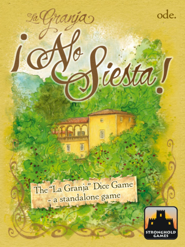 La Granja No Siesta Game Front