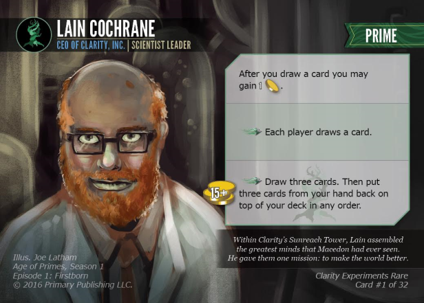 Lain Cochrane - Age of Primes