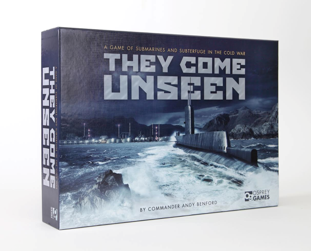 They Come Unseen Game Box