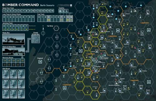 Bomber Command Battle of Berlin Map