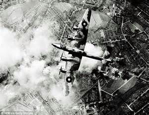 Bomber Command Bomber in Flight