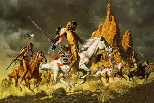 comanche-warriors