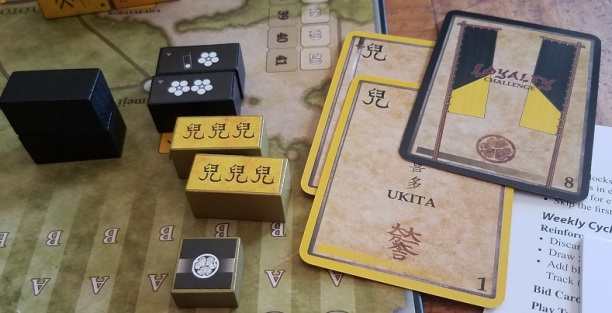 Grant played a loyalty challenge, which I lost, swinging the tide of battle in his favour