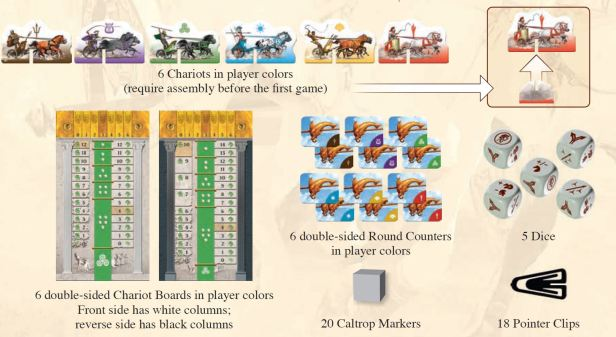 chariot-race-components