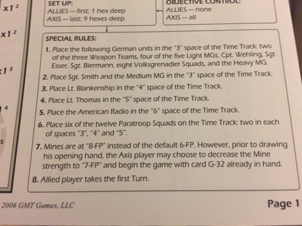 combat-commander-scenario-9-special-rules