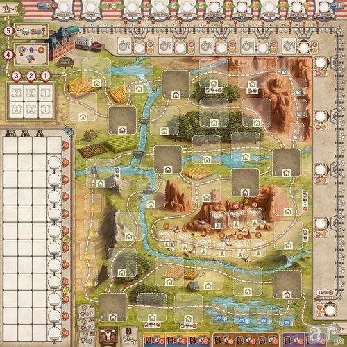 great-western-trail-game-board