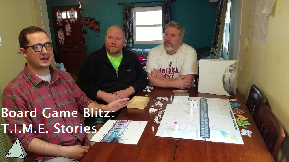 Board Game Blitz: T.I.M.E. Stories – The Players' Aid