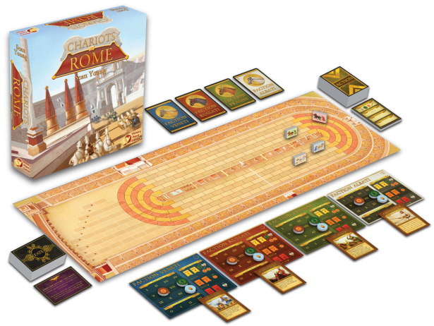 Chariots of Rome Game Display