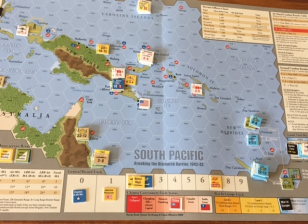 South Pacific Board Setup