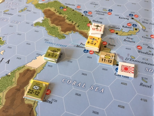 South Pacific Japan Controls New Guinea