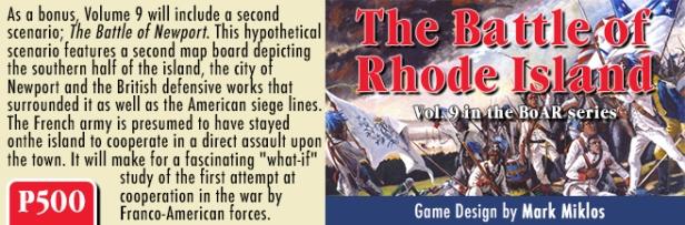 The Battle of Rhode Island Banner 2