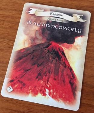 Villainous Vikings Ragnarok Card