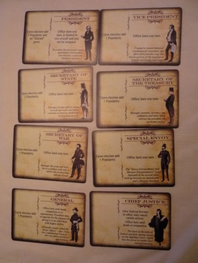 Founding Fathers Action Cards