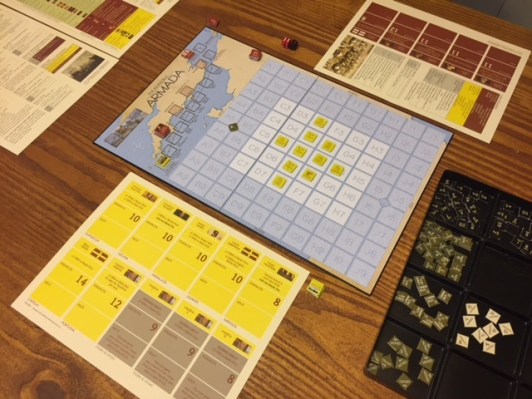 The Invincible Armada Game Setup