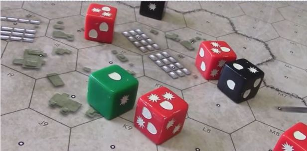 Armageddon War Action Dice