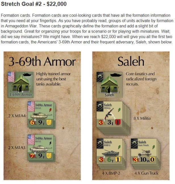 Armageddon War Stretch Goal 2