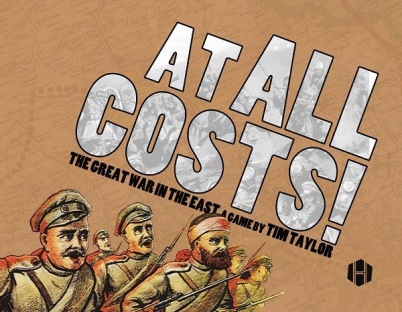At All Costs! Board Game Cover - Hollandspiele