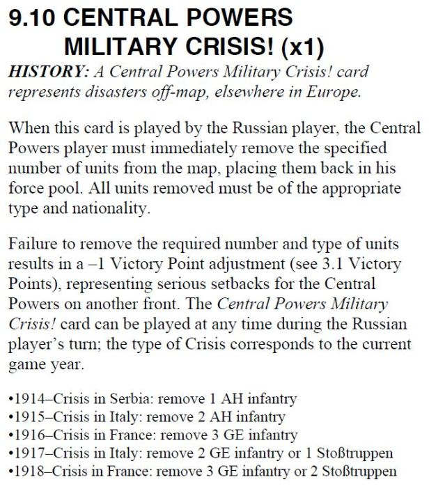 At All Costs! Central Powers Crisis 1