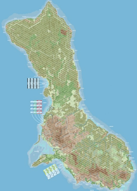 CSS Guam Map