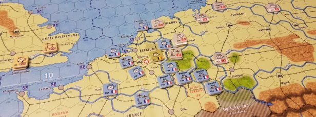 End of turn western front