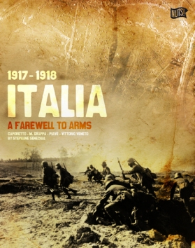 Italia 1917-1918 A Farewell to Arms Box Cover