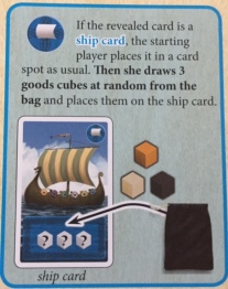 Jorvik Ship Card