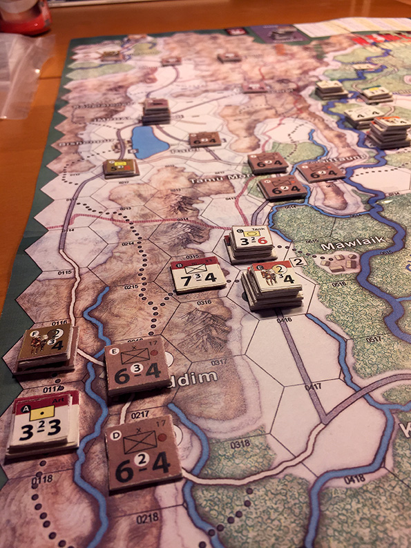 Nemesis Burma 1944 Play in Progress 2