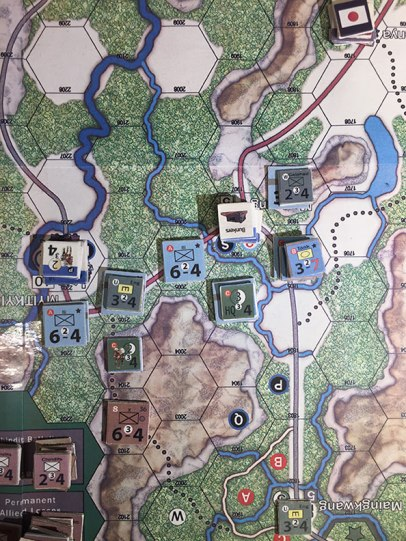 Nemesis Burma 1944 Play in Progress 3