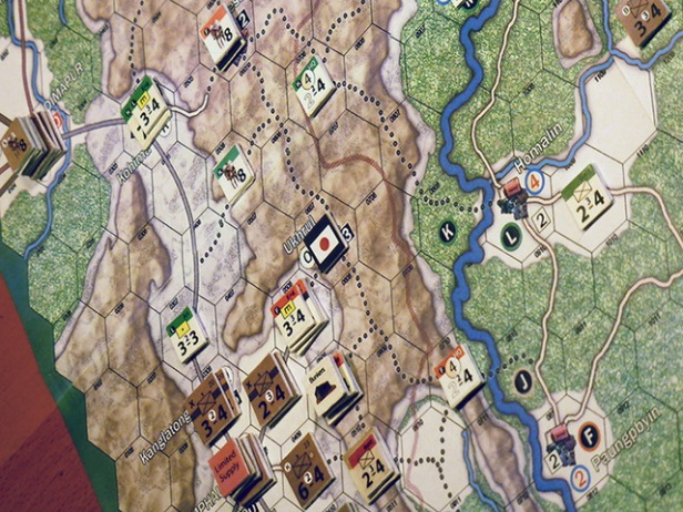 Nemesis Burma 1944 Play in Progress
