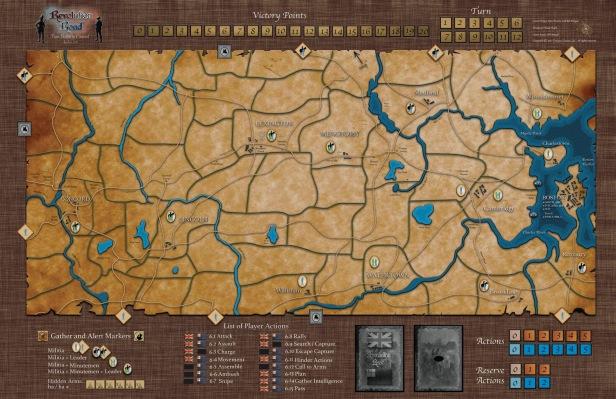Revolution Road B2C Map
