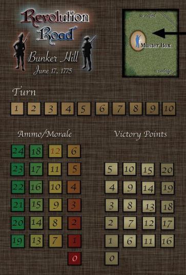 Revolution Road Bunker Hill Admin Tracks