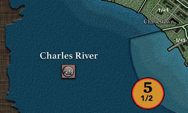 Revolution Road Charles River Naval Staging Box