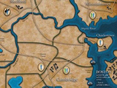 Revolution Road Inset Muster Locations