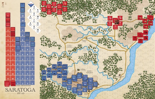 Saratoga Game Board