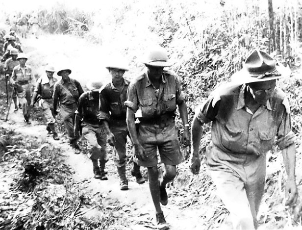 Stilwell Marches Out of Burma May 1942