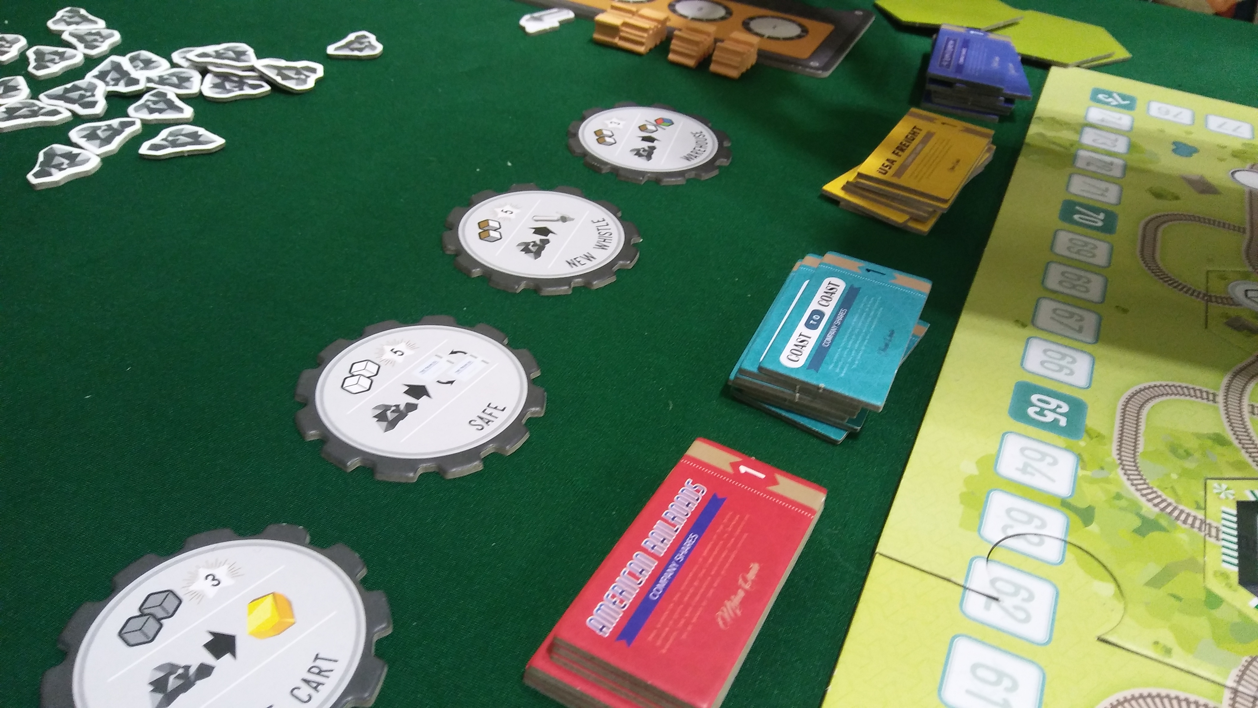 Origins 2017 whistle stop from bzier games the players aid multiple strategies as we were playing the game only 4 rounds out of 10 we were already discussing the different strategies that could possibly be gamestrikefo Images