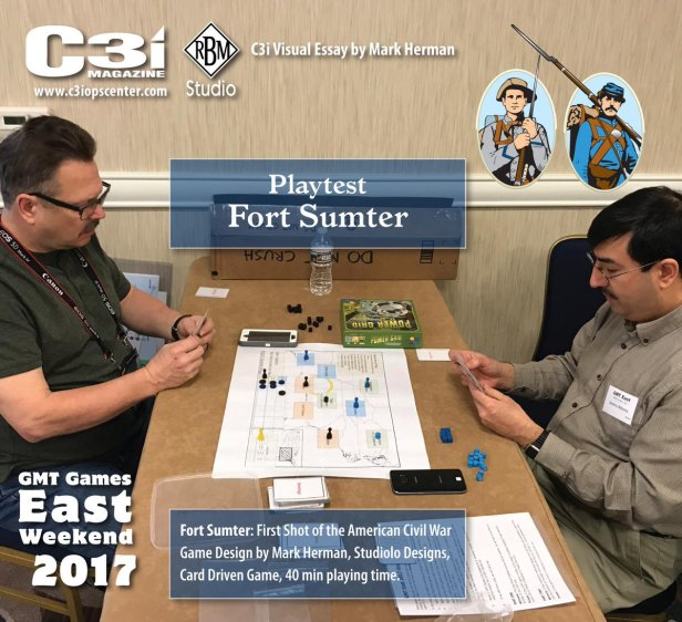 Fort Sumter Playtest GMT East
