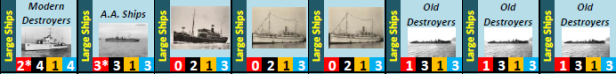 sample large ships